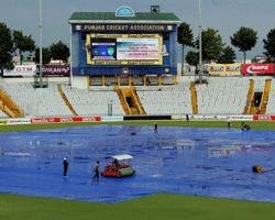 Rain washes out opening day of Mohali Test