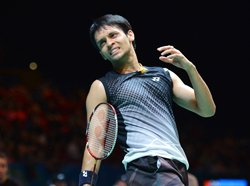 Kashyap crashes out of Swiss Open