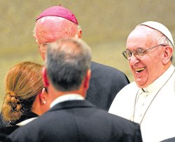 Pope wants 'poor church and church for poor'