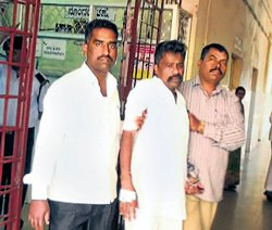 Veerappan aide admitted to hospital