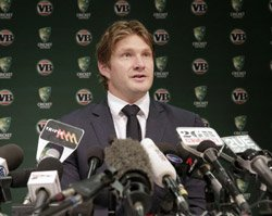 Watson makes peace with Howard, claims commitment to Tests