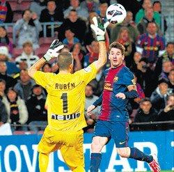 Messi strikes again as Barcelona win