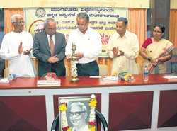 Kannada Study Centre to be named after Prof SVP:VC