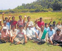 Incomplete work irks villagers