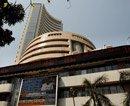 Sensex slumps 124 points on political worries