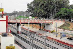 More lanes planned for ROBs  at Baiyappanahalli, Banaswadi