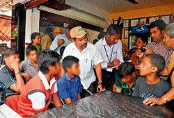 Six child labourers rescued from city hotel