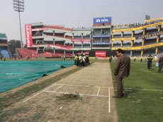 Cracking Kotla pitch back in the news