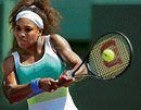 Serena makes explosive start