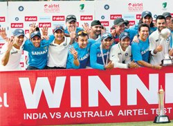 India complete historic whitewash