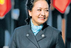 China's first lady is a rising diplomatic star