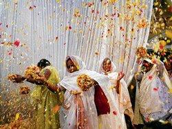 Colour returns to Vrindavan widows' lives