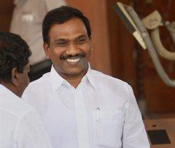 Raja accuses Vahanvati of telling lies