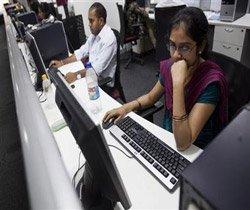 Tech Mahindra falls; merger with Satyam delayed