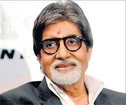 Amitabh Bachchan appeals for dry Holi