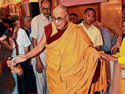 Dalai Lama's special lesson