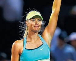 Sharapova has  it easy, storms into last eight