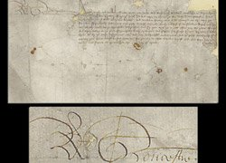 Rare British royal's signature up for auction in US