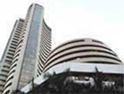 Sensex ends fiscal 2013 on  positive note, rises 131 pts