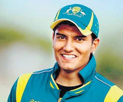 Indian origin cricketer  makes it big in Australia