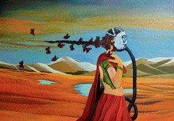 Painting gender violence