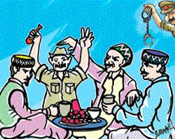 UP cops turn police post into bar, suspended