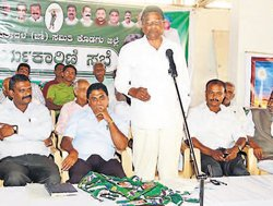 BJP divided into three pieces in State, alleges Jeevijaya