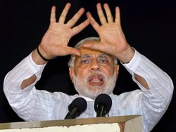 In reality, what Modi does is not what Modi boasts