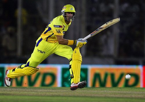 Hussey smashes 86 as Chennai crush Punjab by 10 wickets