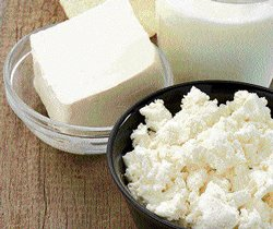 Little Miss Muffet and her curds and whey