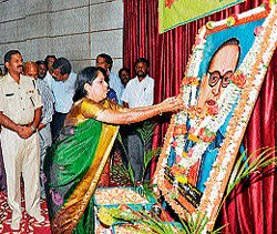 Dr Ambedkar's birth anniversary observed in districts