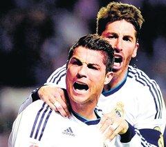 Ronaldo double powers Real Madrid past Bilbao