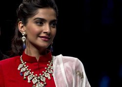 Coloured stone perfect for Indian skin, says Sonam
