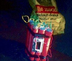 Fake bomb found on bus