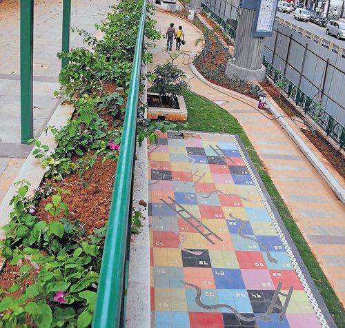 MG Road boulevard returns anew as Rangoli Art Centre