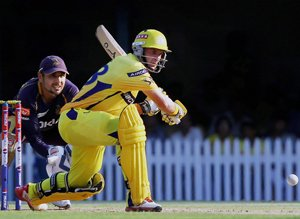 Hussey does it again for Chennai