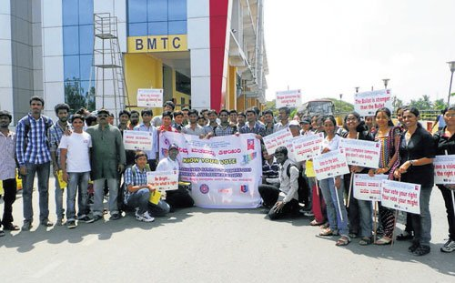 Students hold awareness drive