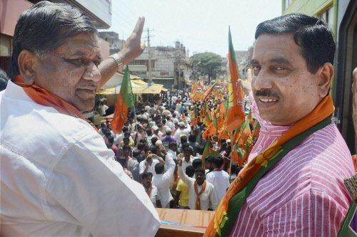 BJP suffers humiliating defeat in Karnataka polls