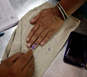 BJP vote share nosedives, small gain for Cong