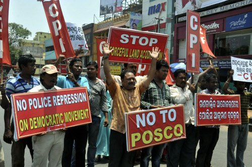 Anti-Posco agitation leader arrested in Odisha