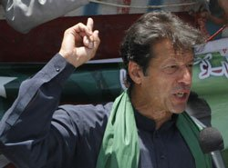 Imran Khan's party concedes defeat