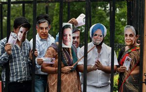 BJP seeks  PM's resignation