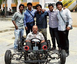 NMIT students develop  world's smallest, lightest car