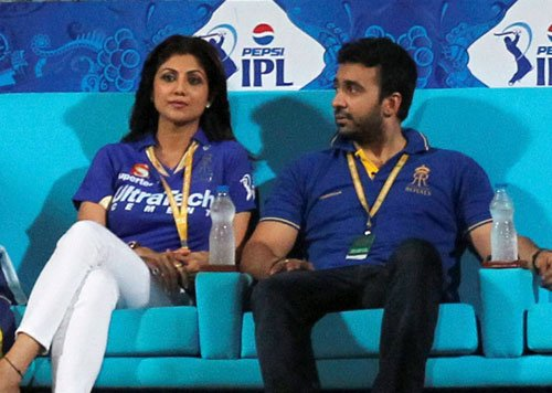 Shilpa Shetty, Kundra in shock after spot-fixing charges