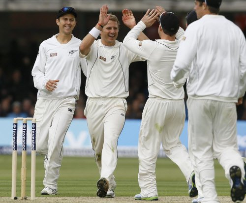 NZ bowlers dominate on day one of first Test