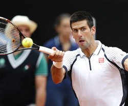 Djokovic back in his stride
