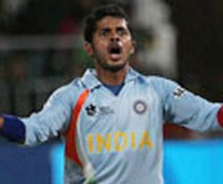 Sreesanth has a history of trouble
