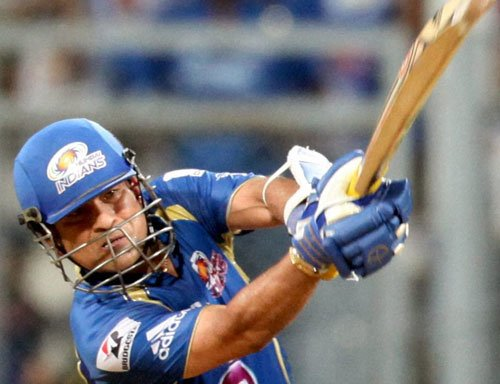Sachin is fit for tomorrow's match against Kings XI Punjab