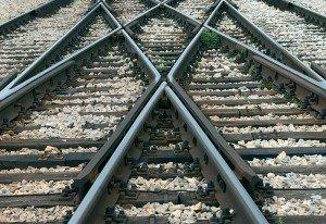 Dumped on rly tracks, woman dies