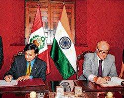 India and Peru celebrate bonding